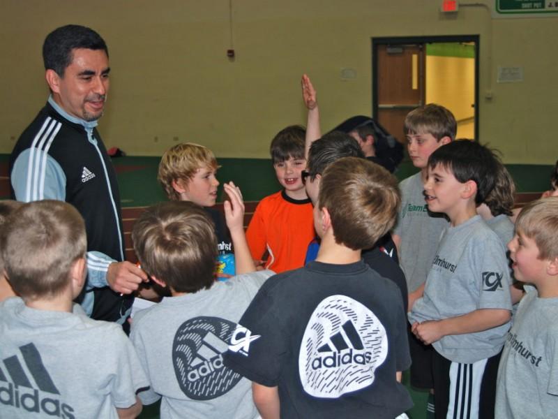 Futsal Soccer Skills Soccer Club Winter Skills