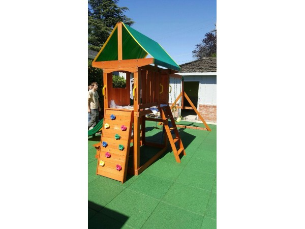 how to build a play structure