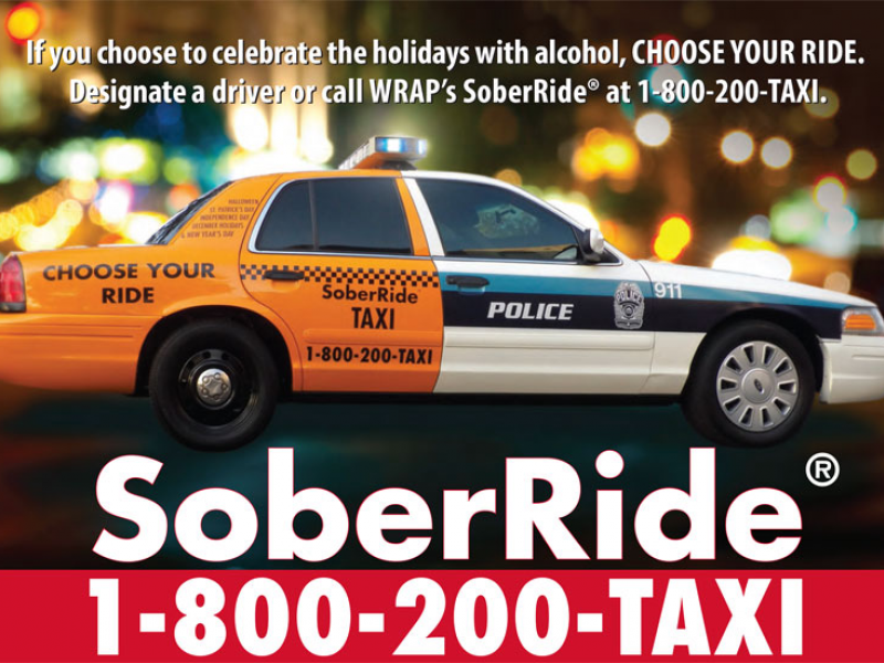 Don't Drive Drunk: Free Cab Rides on New Year's Eve | Patch
