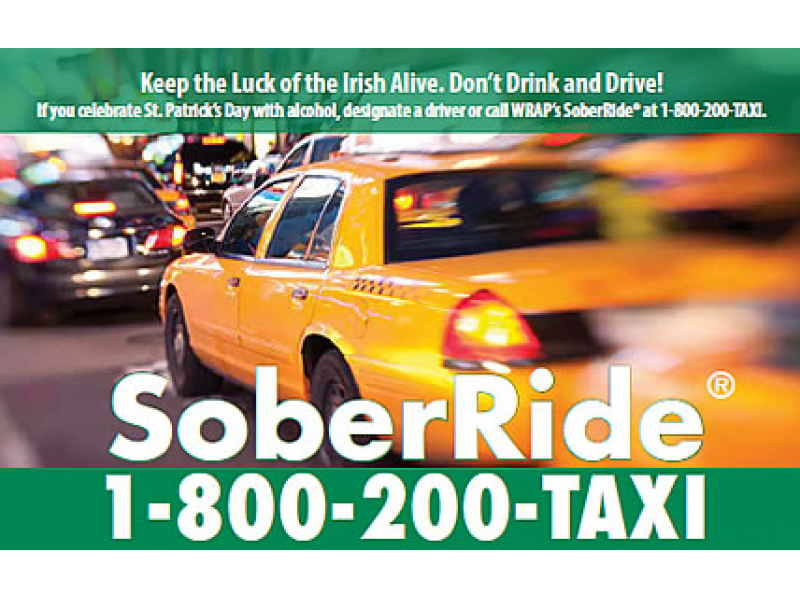 SoberRide Program to Be Offered for St. Patrick's Day | Patch