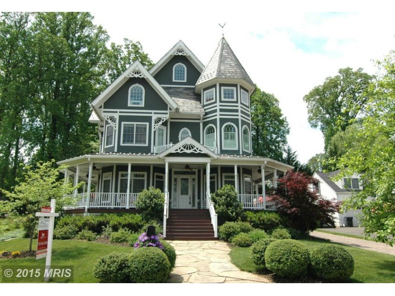 Falls Church Wow House Victorian With Wraparound Porch