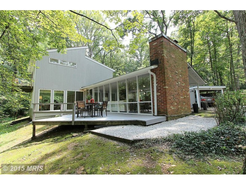 39 wow 39 house mid century modern charles goodman gem for Contemporary homes in virginia