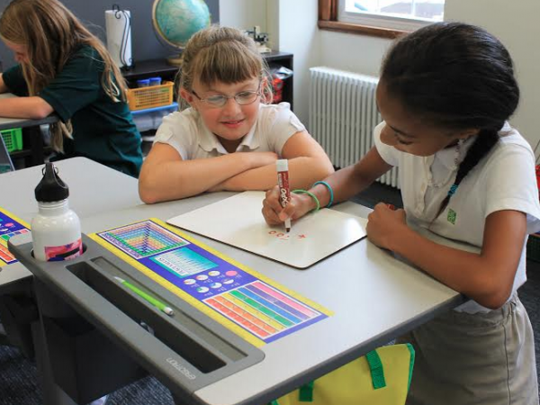 Alexandria School Debuts Standing Desks For Classrooms