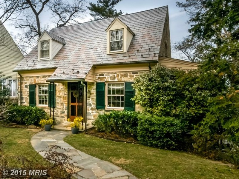 Greater Alexandria WOW House Charming Stone Cape Cod