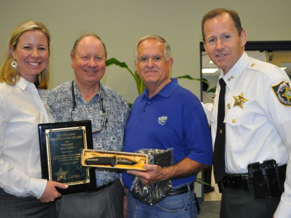 bill currie ford hands out watches receives recognition from hillsborough county sheriff s. Black Bedroom Furniture Sets. Home Design Ideas