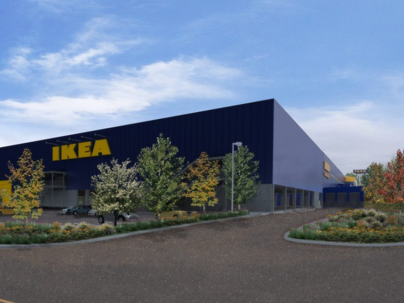 ikea stoughton expansion plans get thumbs up from zoning. Black Bedroom Furniture Sets. Home Design Ideas