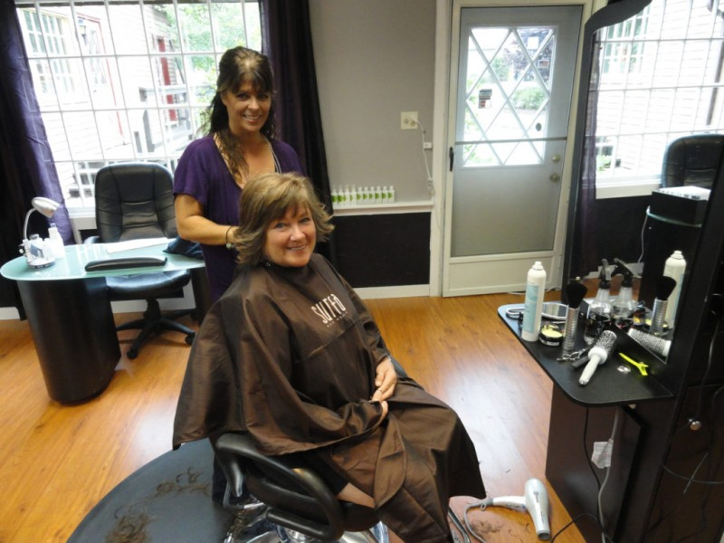 New local hair salon studio 17 holds grand opening today for A salon enfield ct
