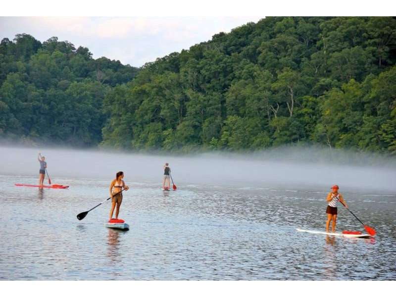 Morgan falls overlook park to host standup paddleboard for Morgan falls