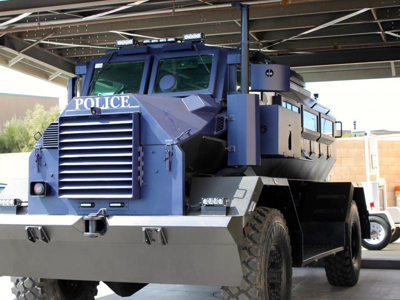 Murrieta Police Acquire New Armored SWAT Truck - Murrieta ...