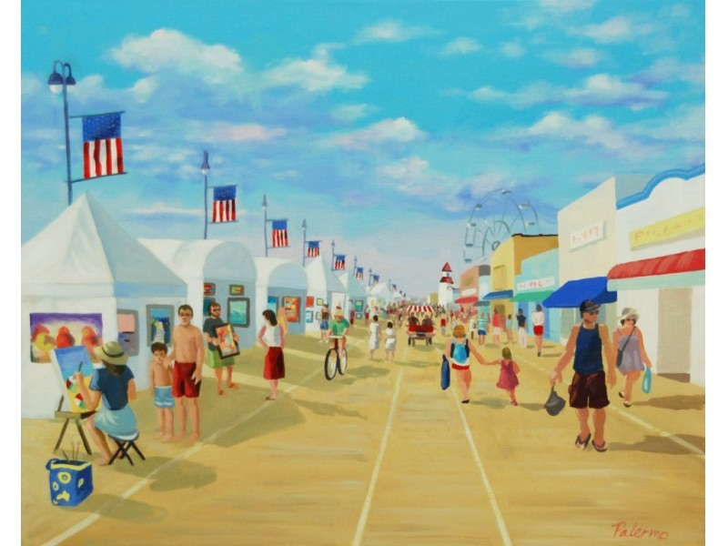 boardwalk art show highlights week of events in ocean city