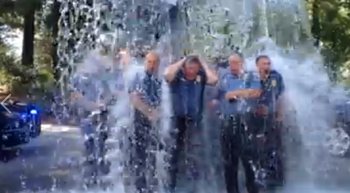 For Northborough, Westborough PDs, the 'Ice Bucket Challenge' is Personal