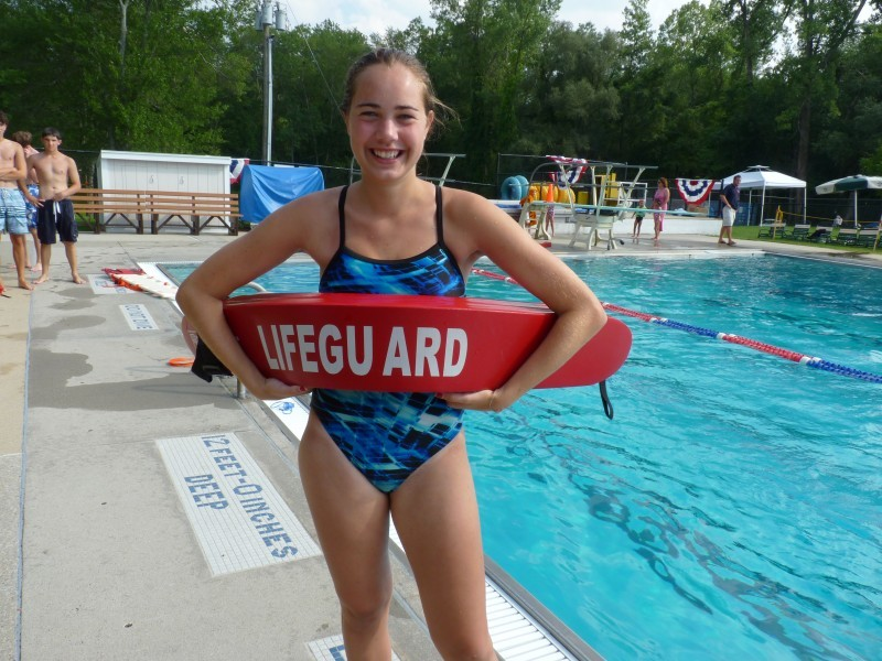 hot lifeguard red nude