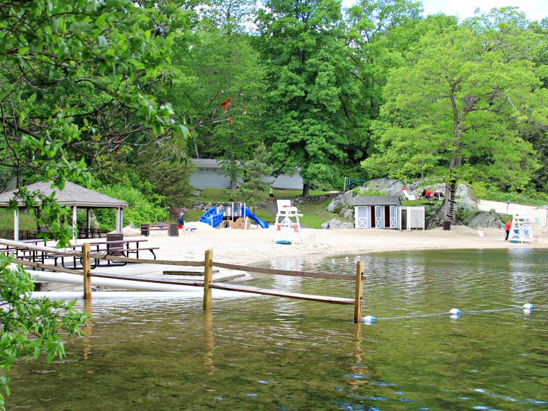 Martin Park Beach Amp Lake Mamanasco Ridgefield Ct