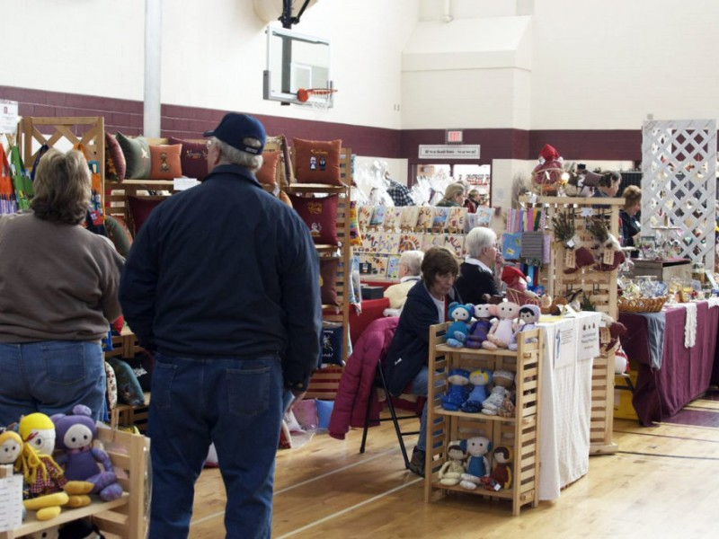 Dedham junior woman 39 s club craft show is back patch for Needham high school craft fair