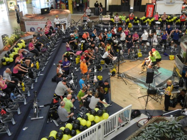 Gold S Gym Spin A Thon Is A Major Contributor To Ada