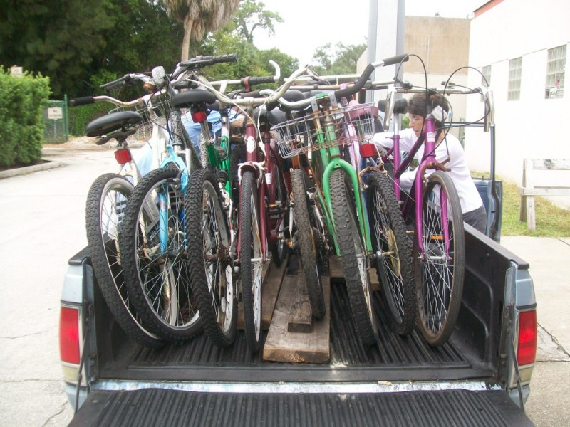 Bikes Sarasota Florida Starts Bike Collection