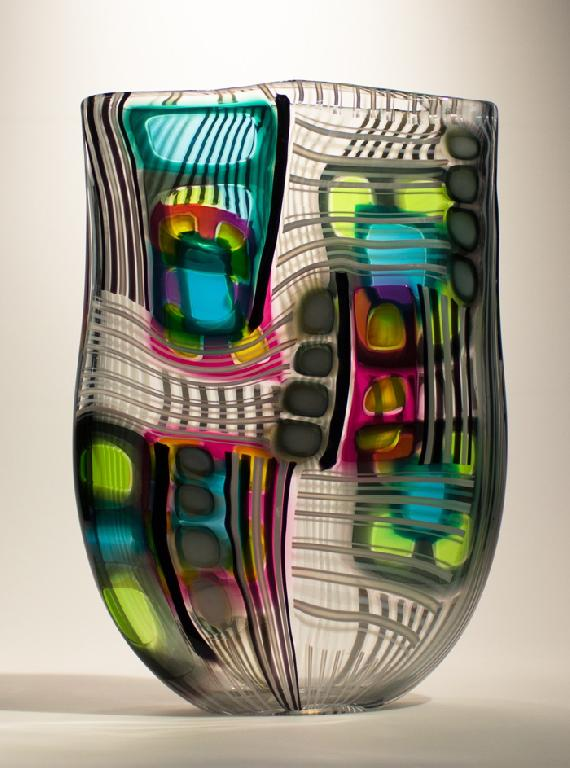 Stonington glass artist jeffrey p 39 an to exhibit at the for Craft fairs in ct december