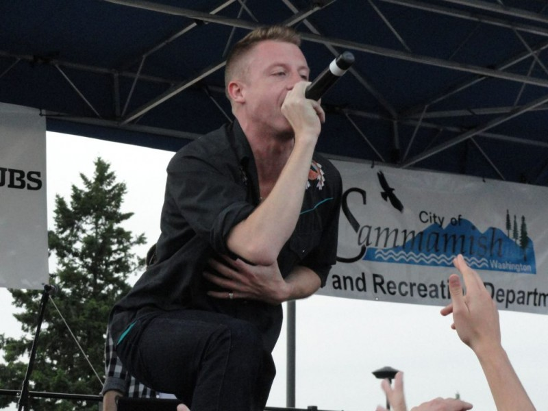 At Teen Fest, Seattle Rapper Macklemore Headlines, Young ...