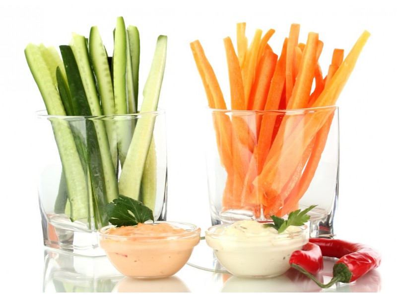 how to store cut up celery and carrots