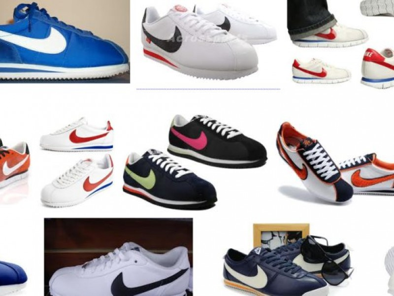 nike cortez sneakers; should gang related nikes get banned
