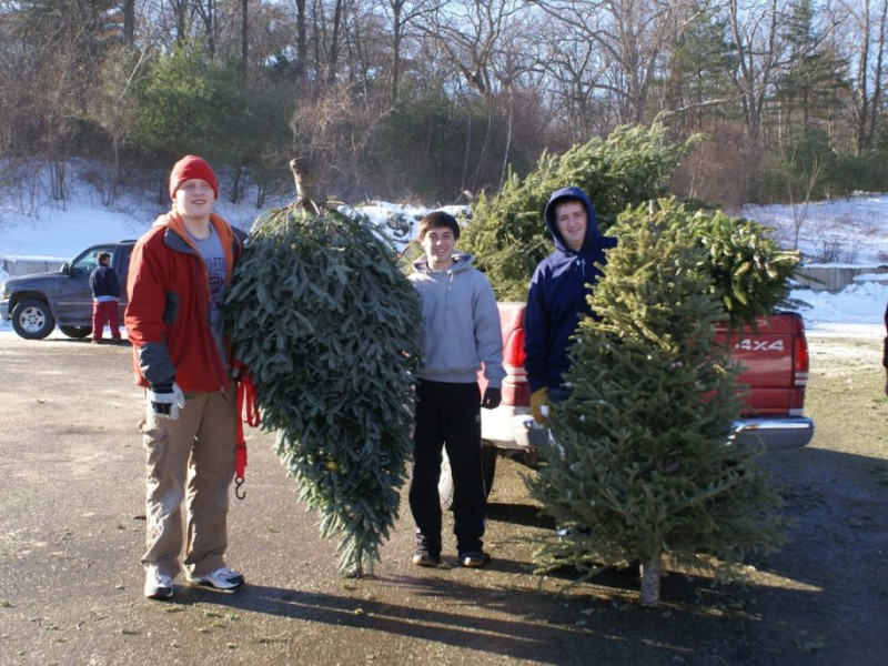 Christmas Tree Pickup by the Concord Boy Scouts & Holy Family ...
