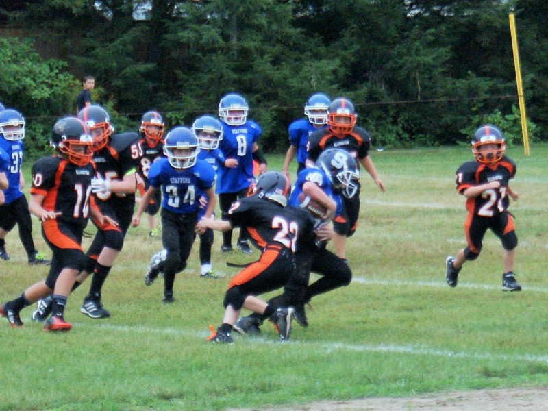 Photos Ellington Youth Football Season Kicks Off