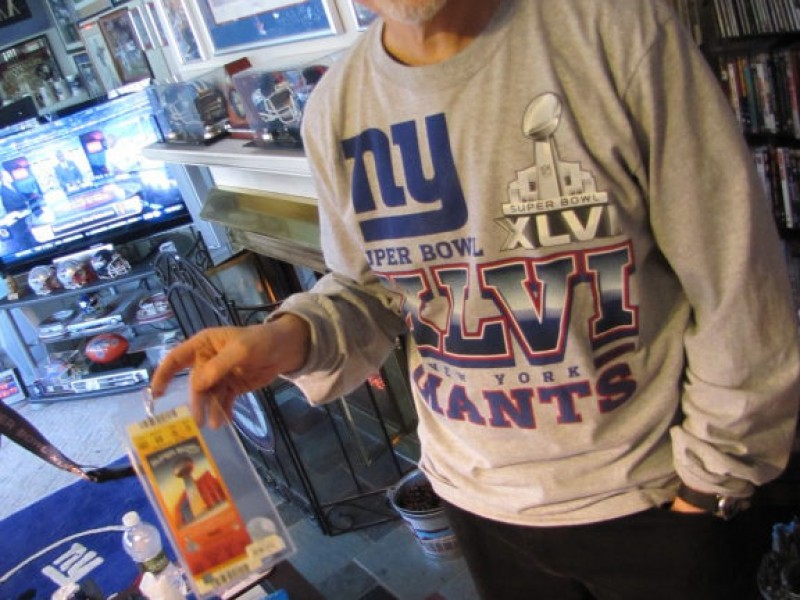 The Biggest Giants Fan In The World Photos Branford