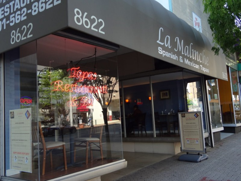 bites nearby big flavors small plates at la malinche in silver spring silver spring md patch. Black Bedroom Furniture Sets. Home Design Ideas