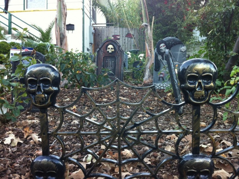 map where are the best halloween decorations in concord