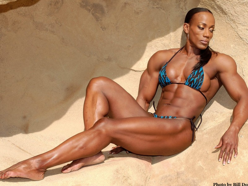 Hall Of Fame Bodybuilder And Grandmother Still Flexing