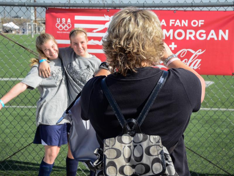 Morgan Draws A Crowd To Hometown Clinic Diamond Bar Ca