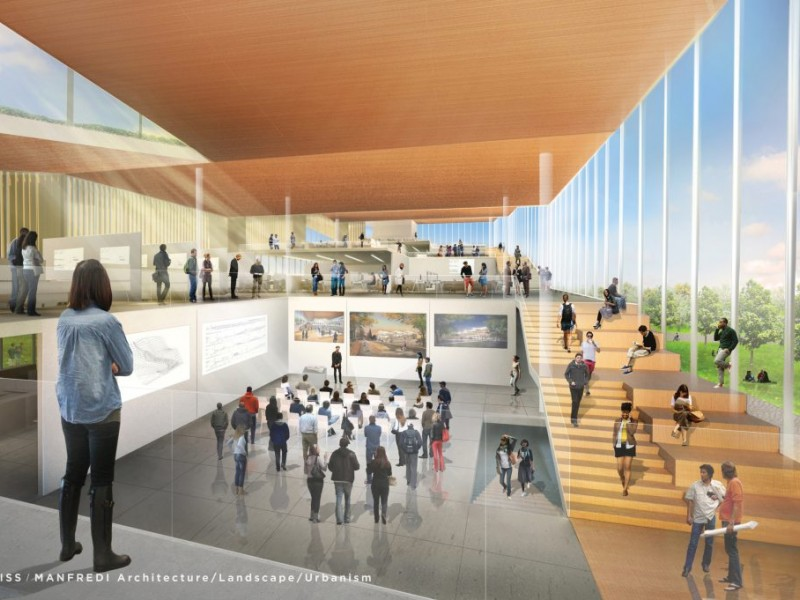 Kent state architecture college proposals unveiled kent for Office design kent