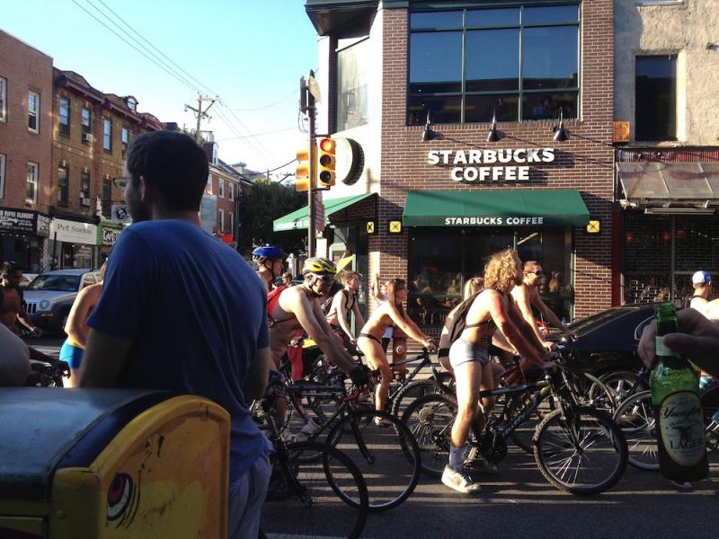 2013 Philadelphia Naked Bike Ride in Photos - Gloucester