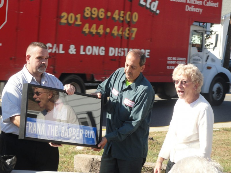 Borough Family Celebrate Frank Halat With Signs Video