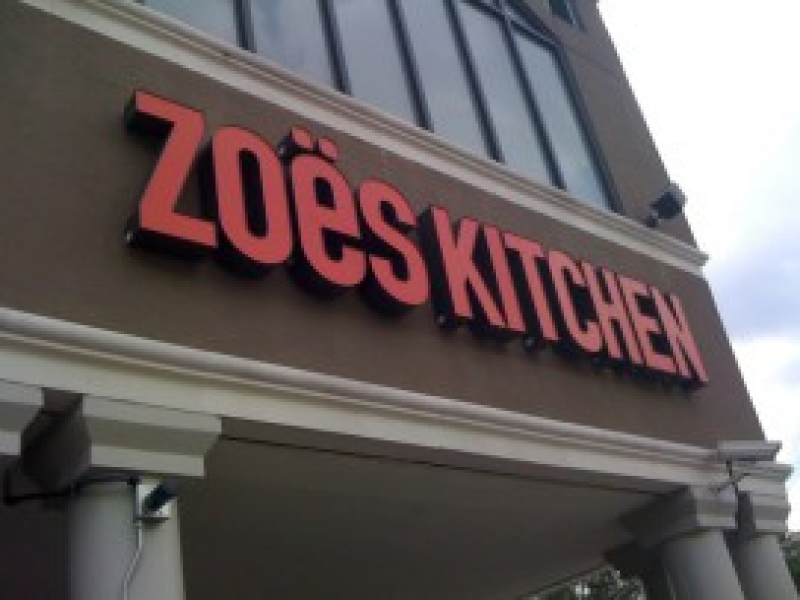 Zoes Kitchen Sign zoes kitchen to open in loehmann's plaza - north druid hills, ga patch