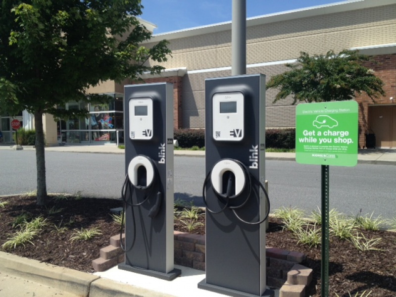 Spotted Electric Vehicle Charging Station Kohls Milton - Electric charging stations in us map
