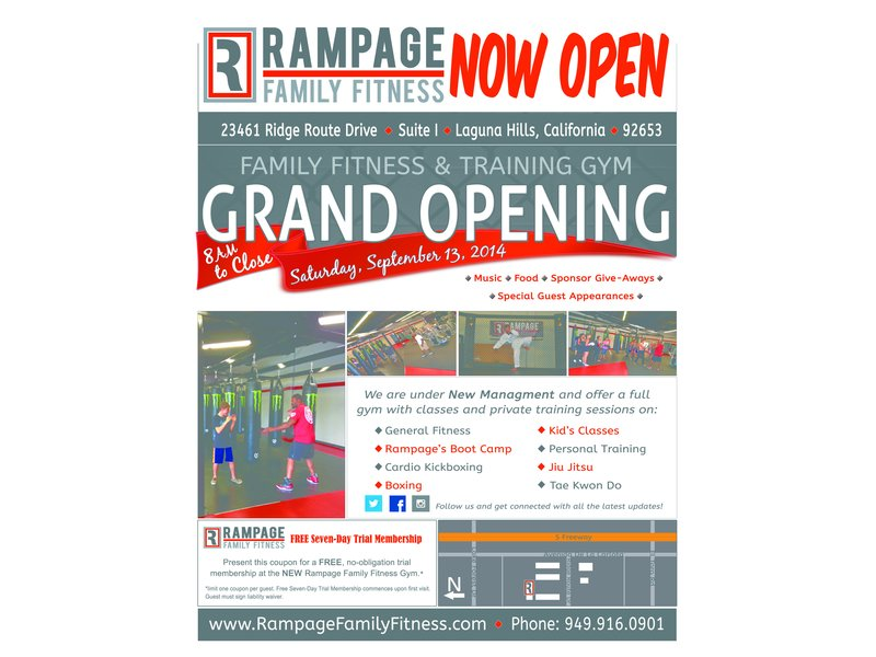Grand Opening Event Amp Ribbon Cutting Rampage Family