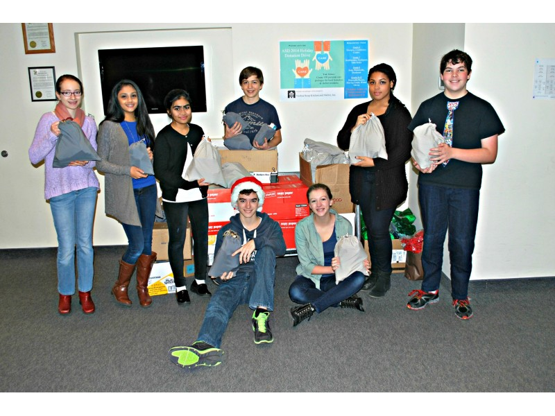 Academy for Science and Design Donates 100 Personal Toiletry Bags ...