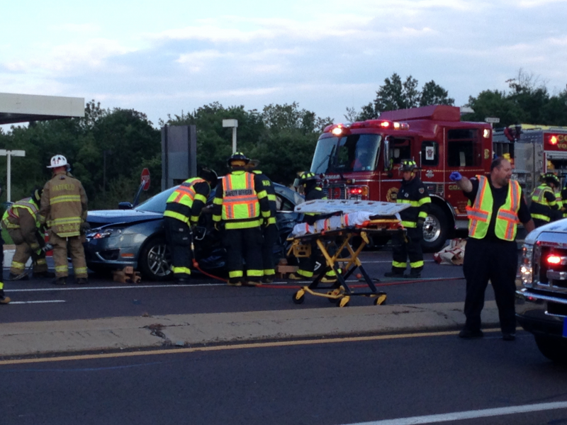 Hilltown Township Car Accident