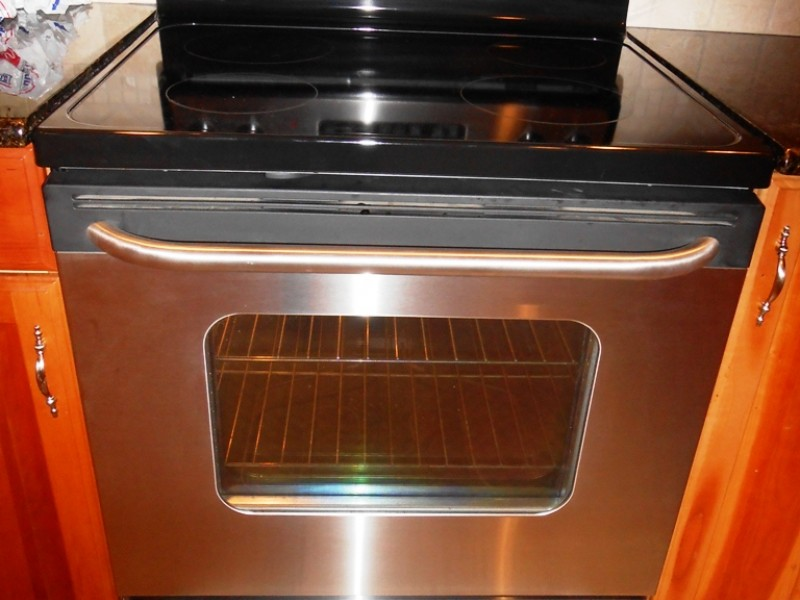 Electric Ranges On Sale Part - 30: ... Mint Condition GE Stainless Steel Electric Range Stove For Sale-0 ...