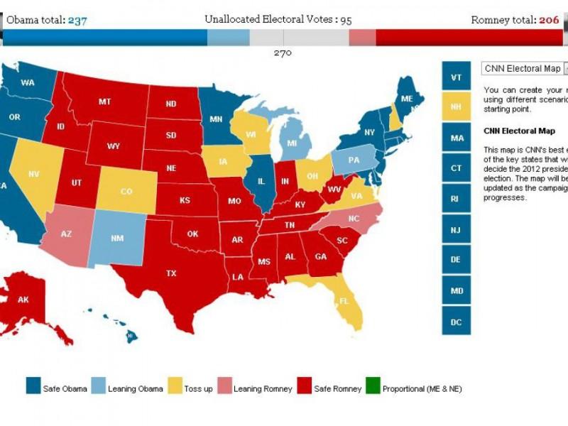 Electoral College Vs Popular Vote Does Your Vote Even Matter - Georgia voting map