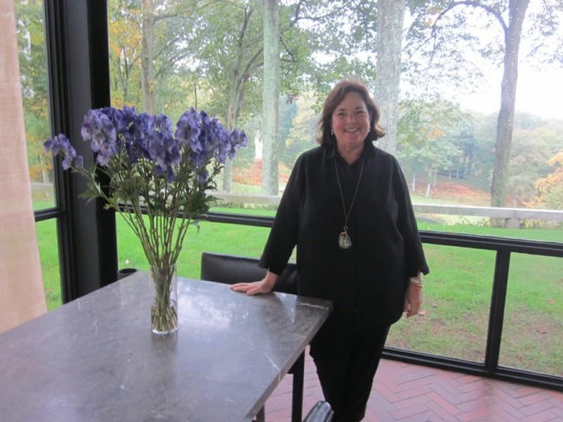 Ina Garten House ina garten, the barefoot contessa, visits the glass house - new