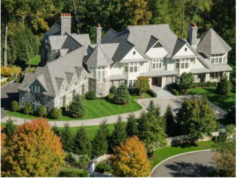 2 greenwich mansions sell for more than 10 million for Connecticut home builders