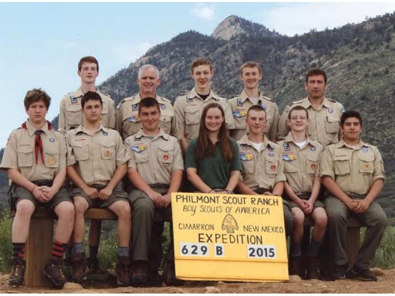 Greenwich Boy Scouts Hike Through New Mexico Wilderness