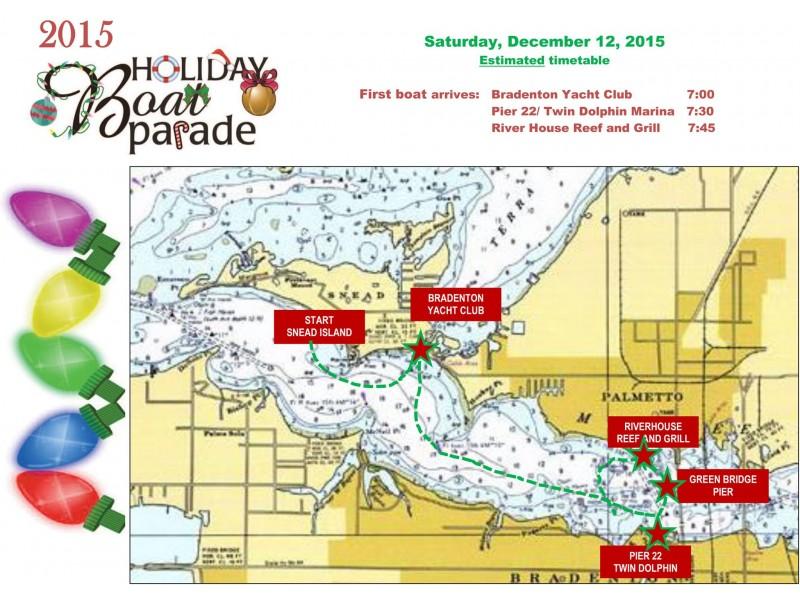 2015 Manatee River Holiday Boat Parade - Bradenton, FL Patch