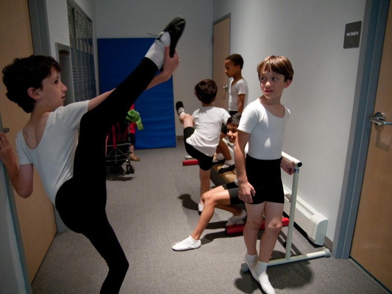 At New Brookline Ballet School Boys Can Be Boys