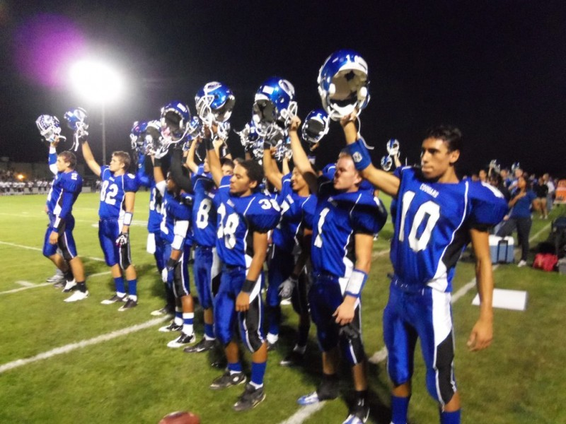 Beaumont Football Falters Late In Game