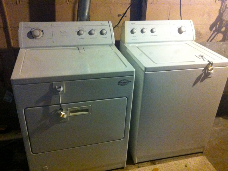 for sale whirlpool matching set washer u0026 gas dryer fox point wi patch
