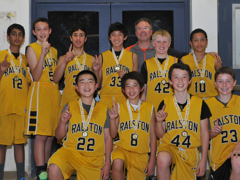 Ralston Rams 7th Graders Take Hoops Titles Belmont Ca Patch