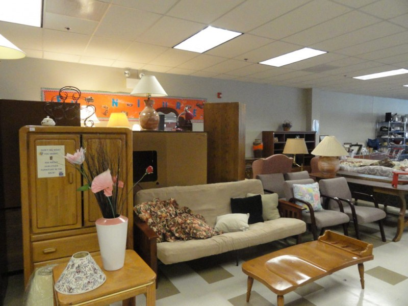 New thrift store offers clothing furniture and more for Furniture and more store